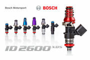 Injector Dynamics Id2600 Xds 2600cc And Pnp Adapter Sr20det Rwd 240sx S13-s15 11mm