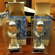 2007 Brewers Paul Molitor Bobblehead Pinstripes And Rare Powder Blue