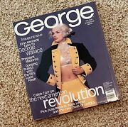 george Jfk Jr Collectible 1st Issue, George Inaugural, Oct/nov 1995, Very Good