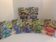 Heroes Of Goo Jit Zu Dino Power - Ultra Rare All Seven Together. Fast Shipping