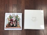 New In Box Lenox 1995 The Night Before Christmas Santa Claus Fine Porcelain