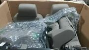 Gmc Yukon 2019 Tan Left And Right Front Leather Seats 2016091