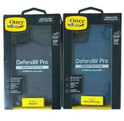 Otterbox Defender Series Pro Case + Holster For Iphone 11 6.1 - Black Or Blue