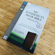 2015 Zondervan Niv Study Bible Personal Size Leather Soft Brown