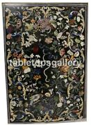 5and039x4and039 Marble Designer Table Top Multi Floral And Birds Inlay Restaurant Decor B150