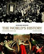 The Worldand039s History Volume 2 4th Edition - Paperback By Spodek Howard - Good