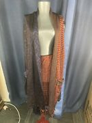 Jean Paul Gaultier Rare Gorgeous Open Front Or Wrap Around Knit Cardigan Duster