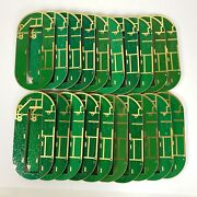 Lot Of 180 Boards Scrap Gold Plated Circuit Rf Microwave Computer Recovery