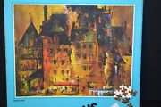 Whitman Guild Vintage 600 Piece Jigsaw Puzzle French Cafe Art Painting Sealed