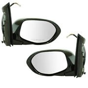 For 14-17 Odyssey Van Rear View Mirror Power Heated W/memory Left Right Set Pair