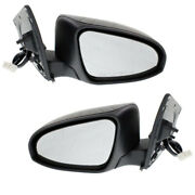 For 2016 Scion Im And 17-18 Corolla Im Rear View Mirror Power W/signal Set Pair
