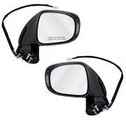 For 08-09 Es350 Rear View Mirror Assembly Power Heated W/puddle Lamp Set Pair