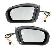 05 06 07 Benz C-class Rear View Mirror Power Heated W/memory And Signal Set Pair