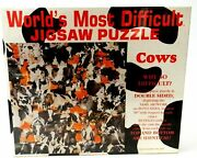 World's Most Difficult Jigsaw Puzzle Cows