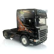 1/14 Hercules Scania Rc R730 Highline Tractor Truck Model Gripen Painted Motor