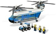 Lego 4439 City Heavy-duty Helicopter 100 Complete Guaranteed Mint With Manuals