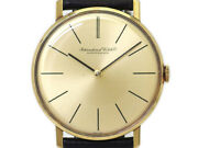 2hands Ref.2500 18k Gold Cal.423 Manual Vintage Watch 1976and039s Overhauled