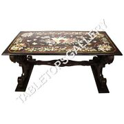 6and039x3and039 Marble Dining Table Top Floral Marquetry Precious Inlaid Home Decors E637b