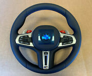 Bmw M5 F90 X3m F97 X4m F98 Genuine Usa M Steering Wheel Heating Acc New