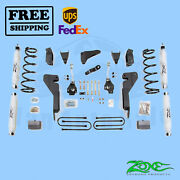 Suspension Lift Kit Zone 6 F And R Fits Dodge Ram 1500 Mega Cab 4wd Gas 06-07
