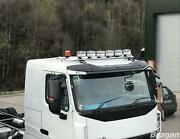 Roof Bar + Spots + Amber Beacons For Mitsubishi Fuso Super Great Stainless Truck