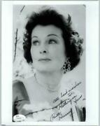 Ruth Hussey, Actress Deceased Signed 8x10 Jsa Authenticated Coa N44660