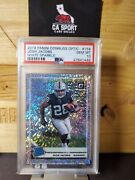 2019 Optic Josh Jacobs White Sparkle Rated Rookie Psa 10 20 Or Less Pop 1