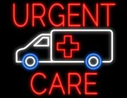 New Urgent Care Artwork Real Glass Neon Sign 32x28 Beer Lamp Light