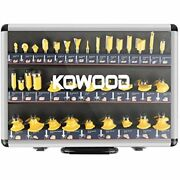 Router Bits Sets Of 35b Pieces 1/4 Inch T Shape Wood Milling Cutter Free Ship