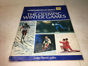 1980 Tv Viewers Guide To Xiii Olympic Winter Games Lake Placid By Hertz 32 Pages