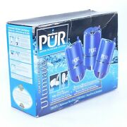 3 Pack Genuine Pur Ultimate Faucet Water Filter Rf-4050l New Old Stock