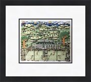 James Rizzi - Lets All Meet At Daddyand039s Club Custom Gallery Framed