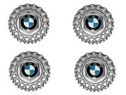 Bmw E30 Wheel Center Hub Cap 15/16and039and039 Bbs 171mm X4 Oem Cover Roundel Emblem