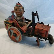 Marx College Whoopee Car, Wind Up, Works, Nice. Shows Well. Economy Shipping.