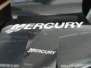 Mercury Outboard Window Signs 2 Large 3 Small. Brand New