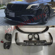 Carbon Body Kit For Mercedes Benz Amg S63 S-class W222 2018+