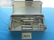 St Francis Surgical Orthopedic Spine X-stop Instrument Set W/ Tray