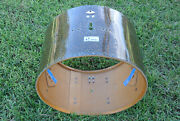 60's Sonor 22 Black Galaxy Sparkle Bass Drum Shell For Your Drum Set Lot G466
