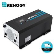 Open Box Renogy 2000w/3000w 12v Pure Sine Wave Solar Inverter Charger W/ Lcd