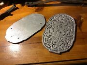 Caille Coin Operated Arcade Machine Castings Very Ornate Penny Arcade Strength