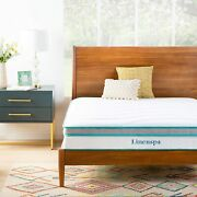 Memory Hybrid Plush Mattress With Edge Support And Quilted Memory Foam Layer