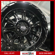22x12 Xd829 Hoss 2 Xd Series Wheel And 33 Tire Package 6x139.7[6x5.5] Gloss Blk