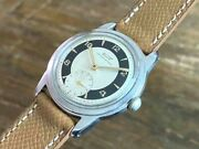 Tissot Antimagnetic Bulls Eye Dial Small Second Vintage Watch 1950and039s