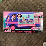 Lol Surprise Omg 4-in-1 Glamper Fashion Camper With 55+surprises Electric New🚚