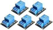 5 Pcs 5v One Channel Relay Module Board Shield For Pic Avr Dsp Arm Free Shipping