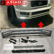 Front Lip With Led Drl For Mercedes-benz G-class W463a W464 G500 G550 G350