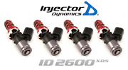 Injector Dynamics 2600-xds Fuel Injector 4pc For 2005-2010 Scion Tc 2.4l