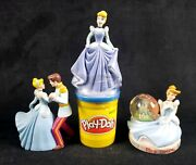 Lot Of 3 Hard To Find Cinderella Toys