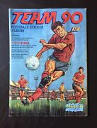 First Ever Merlin Album Rare Team 90 English And Scottish Premier Complete
