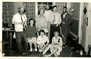1950s Adults Halloween Party Costume Vintage Sembach Germany Drinking Budweiser